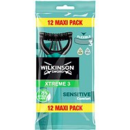 WILKINSON Xtreme3 Sensitive Pure 12 db - Borotvák