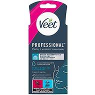 VEET Wax Strips Face Sensitive Skin 40 db - Szőrtelenítő csík