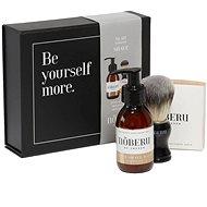 NOBERU Sandalwood borotválkozó szett - Kozmetikai ajándékcsomag