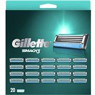 GILLETTE Mach3 20 db - Férfi borotvabetét