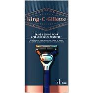 KING C. GILLETTE Shave & Edging + 1 db fej - Borotva