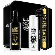 ANGRY BEARDS Szakállnövesztő készlet - Roller és Doping 100 ml - Sminkkészlet