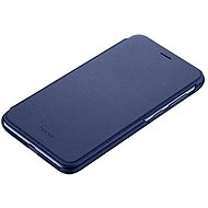 Honor 9 Lite PU Flip Cover kék - Mobiltelefon tok