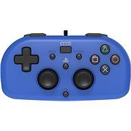 HORI Wired Mini Gamepad kék - PS4 - Kontroller