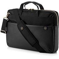 "HP Pavilion Accent Briefcase 15.6"" fekete-arany - Laptoptáska"