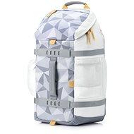 """HP Odyssey Backpack Facets White 15.6"""" - Laptop hátizsák"""
