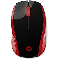 HP Wireless Mouse 200 Empres Red - Egér