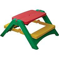 Összecsukható asztalka padokkal - Játék bútor