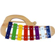 Bino ívelt xilofon - Zenélő játék