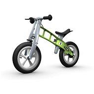 FirstBIKE Racing lábbal hajtható kerékpár, zöld - Futókerékpár