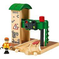 Vasútmodell kiegészítő Brio World 33674 Jelzőállomás - Příslušenství k vláčkodráze