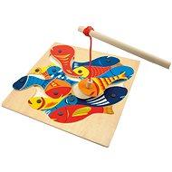 Készségfejlesztő játék Fa horgászjáték - Oktató játék - Didaktická hračka