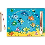 Készségfejlesztő játék Woody Fishing - Didaktická hračka