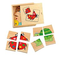 Woody Minipuzzle - Katicabogár