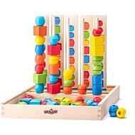 Készségfejlesztő játék Woody Logik - Didaktická hračka
