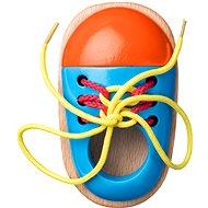 Woody Fűzős cipő - Készségfejlesztő játék
