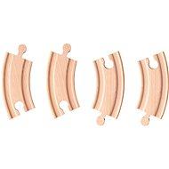 Woody rövid kanyarok - Vasútmodell kiegészítő