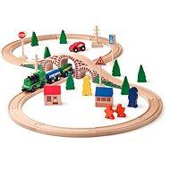 Woody 8-as alakú vasút elektromos mozdonnyal - Kisvasút