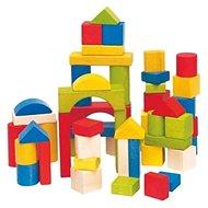 Woody színes kocka - Fa játékkockák