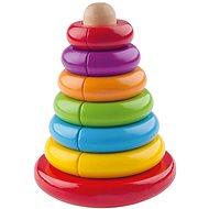 Woody Mágneses piramis - Készségfejlesztő játék