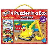 GALT 4 puzzle egy dobozban - szállítóeszközök - Puzzle