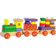 Woody összecsukható vonat fénnyel
