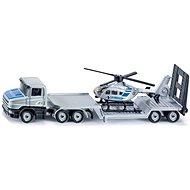 Siku Blister - Vontató kamion és helikopter - Fém modell