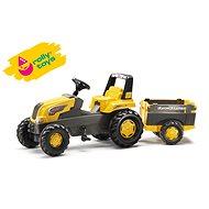 Rolly Junior pedálos traktor Farm Trailer - sárga - Pedálos traktor