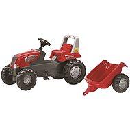 Rolly Toys pedálos traktor Junior utánfutóval - Pedálos traktor