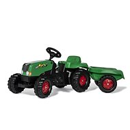Rolly Toys Rolly Kid pedálos traktor, zöld és piros színű - Pedálos traktor