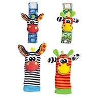 Playgro különleges zoknik és karkötők - Csörgő