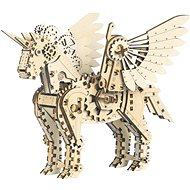 Mr. Playwood 3D Mecanical Unicorn kisméretű - Építőjáték