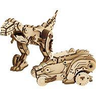 Mr. Playwood 3D dinoszaurusz és autó - Építőjáték
