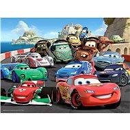 Ravensburger 106158 Disney Cars Robbanó autóverseny - Puzzle