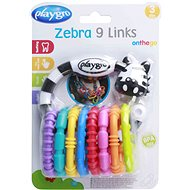 Interaktív játék Playgro - Új karikás zebra - Interaktivní hračka