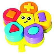 Playgro - Formaválogató puzzle virág alakú - Interaktív játék