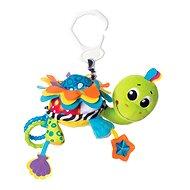 Playgro - Agatha teknős - Babakocsira rögzíthető játék