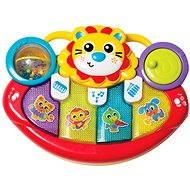 Interaktív játék Playgro interaktív játék - Multfunkciós oroszlános hangszer - Interaktivní hračka
