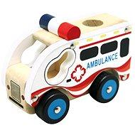 Bino Fa mentőautó - Játékautó