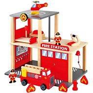 Bino Tűzoltóállomás - Játékszett