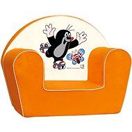 Bino Narancssárga fotel - Kisvakond