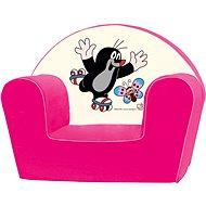 Bino Rózsaszín fotel - Kisvakondos - Gyerekbútor