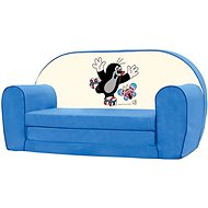 Bino Mini kék kanapé - Kisvakond