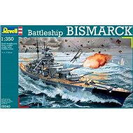 Plastic ModelKit hajó 05040 - Battleship BISMARCK - Hajó makett