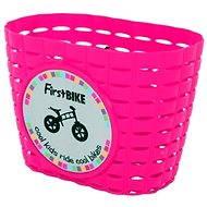 FirstBIKE kosár rózsaszín - Kerékpár kosár