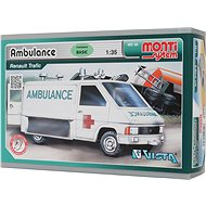 Monti system 06 - Renault Trafic mentőautó 1:35 - Építőjáték