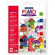 Fimo Soft 8023 - alapszínek - Kreatív szett