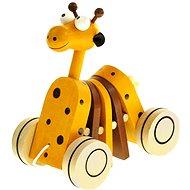 Bino Húzógatós játék zsiráf