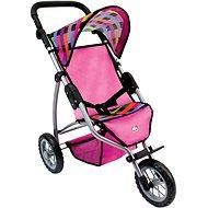 Bino Tricikli babakocsi - színes - Játék babakocsi