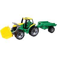 Lena Traktor homlokrakodóval és pótkocsival - Játékautó